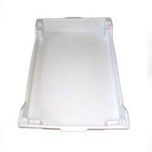 Bandeja plástica branca